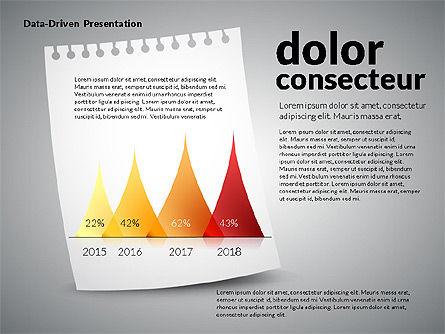 Data Driven Charts on Paper Sheet Slide 4