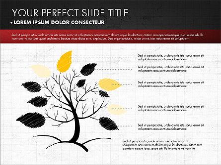 Chalkboard Style Presentation, Slide 9, 02901, Presentation Templates — PoweredTemplate.com