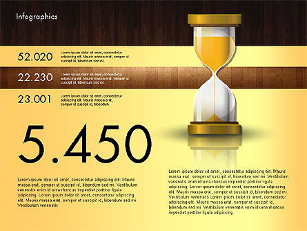 Reports with Hourglass, Slide 10, 02904, Infographics — PoweredTemplate.com