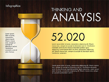 Reports with Hourglass, Slide 9, 02904, Infographics — PoweredTemplate.com