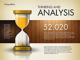 Infographics: Reports with Hourglass #02904