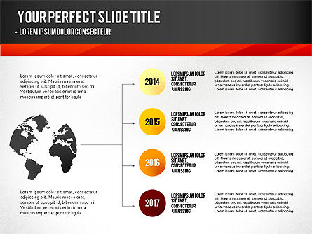 Presentation Templates: Presentation with Timeline and Stages #02906