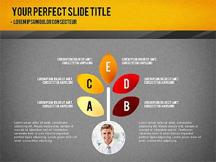 Presentation with Timeline and Stages, Slide 10, 02906, Presentation Templates — PoweredTemplate.com