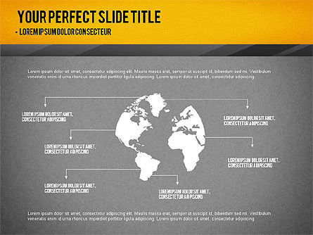 Presentation with Timeline and Stages, Slide 13, 02906, Presentation Templates — PoweredTemplate.com