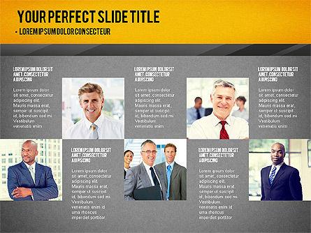 Presentation with Timeline and Stages, Slide 14, 02906, Presentation Templates — PoweredTemplate.com