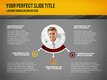 Presentation with Timeline and Stages, Slide 16, 02906, Presentation Templates — PoweredTemplate.com