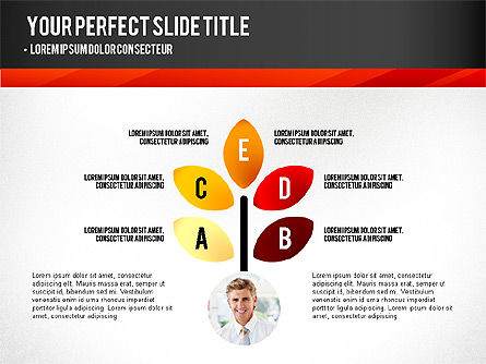 Presentation with Timeline and Stages, Slide 2, 02906, Presentation Templates — PoweredTemplate.com