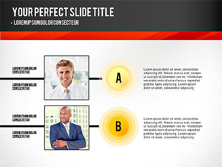 Presentation with Timeline and Stages, Slide 4, 02906, Presentation Templates — PoweredTemplate.com
