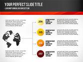 Presentation Templates: 타임 라인 및 스테이지로 프리젠 테이션 #02906