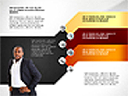Stages with Photo and Shapes Toolbox, Slide 4, 02907, Stage Diagrams — PoweredTemplate.com