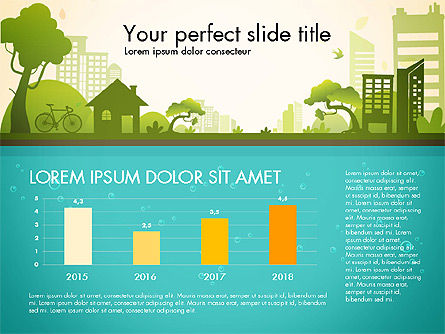 Presentation Templates: Green City Presentation Template #02908