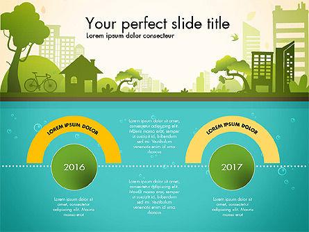 Green City Presentation Template, Slide 4, 02908, Presentation Templates — PoweredTemplate.com