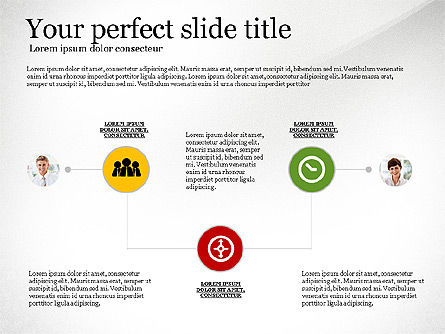 Business Concept Presentation Template, 02910, Presentation Templates — PoweredTemplate.com