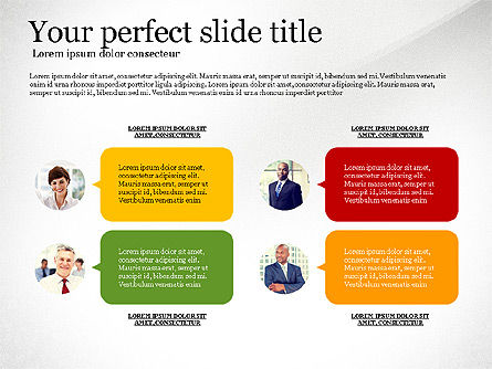 Business Concept Presentation Template, Slide 2, 02910, Presentation Templates — PoweredTemplate.com