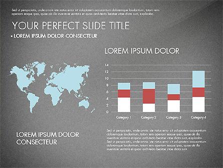 Presentation with Stages in Flat Design, Slide 14, 02911, Presentation Templates — PoweredTemplate.com