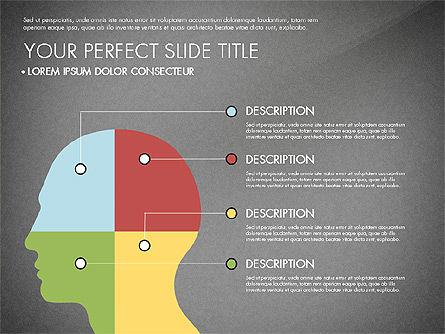 Presentation with Stages in Flat Design, Slide 15, 02911, Presentation Templates — PoweredTemplate.com