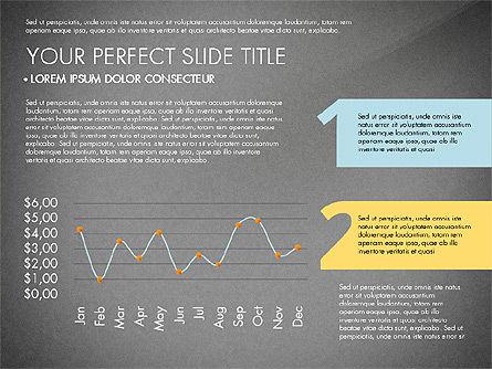 Presentation with Stages in Flat Design, Slide 16, 02911, Presentation Templates — PoweredTemplate.com