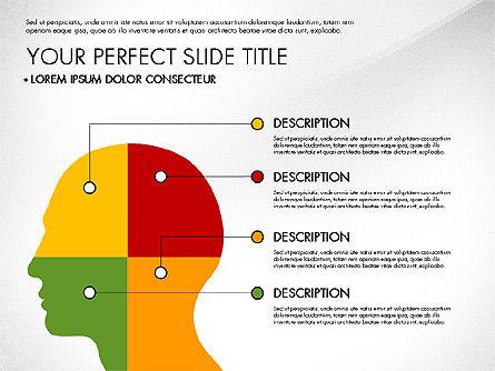 Presentation with Stages in Flat Design, Slide 7, 02911, Presentation Templates — PoweredTemplate.com