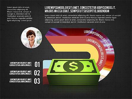 Business Process Concept, Slide 13, 02912, Stage Diagrams — PoweredTemplate.com