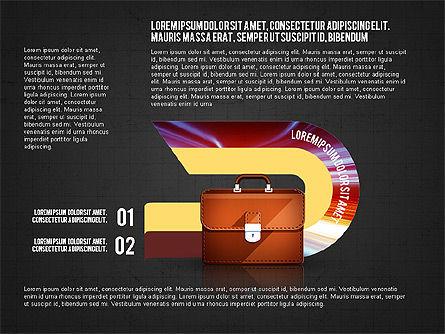 Business Process Concept, Slide 15, 02912, Stage Diagrams — PoweredTemplate.com