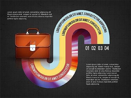 Business Process Concept, Slide 16, 02912, Stage Diagrams — PoweredTemplate.com