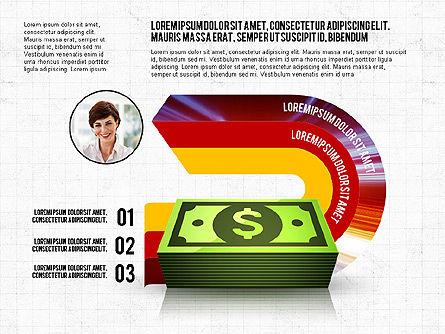 Business Process Concept, Slide 5, 02912, Stage Diagrams — PoweredTemplate.com