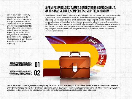 Business Process Concept, Slide 7, 02912, Stage Diagrams — PoweredTemplate.com
