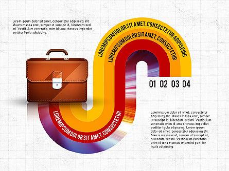 Business Process Concept, Slide 8, 02912, Stage Diagrams — PoweredTemplate.com