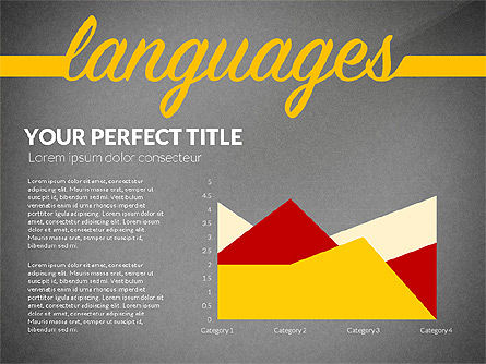 Education Report with Data Driven Charts Concept, Slide 14, 02914, Education Charts and Diagrams — PoweredTemplate.com