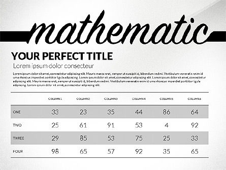 Education Report with Data Driven Charts Concept, Slide 4, 02914, Education Charts and Diagrams — PoweredTemplate.com