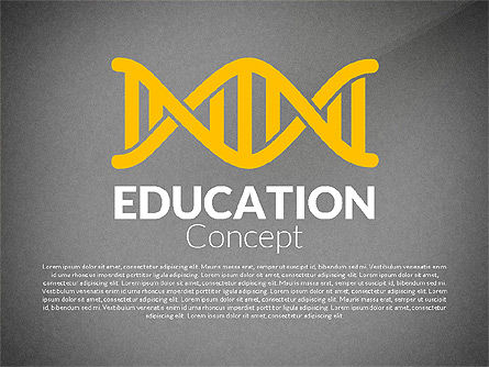 Education Report with Data Driven Charts Concept, Slide 9, 02914, Education Charts and Diagrams — PoweredTemplate.com
