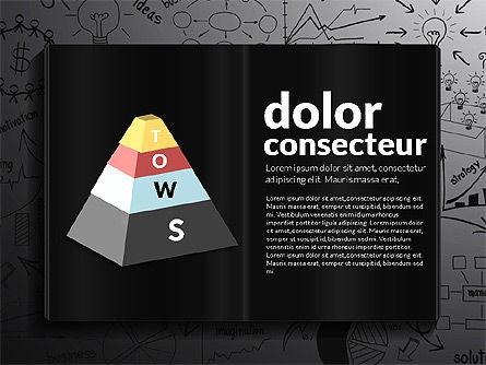 SWOT Analysis Creative Presentation Template, Slide 10, 02915, Business Models — PoweredTemplate.com