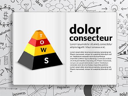 SWOT Analysis Creative Presentation Template, Slide 2, 02915, Business Models — PoweredTemplate.com