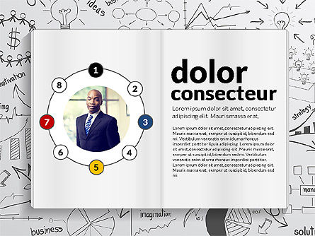 SWOT Analysis Creative Presentation Template, Slide 8, 02915, Business Models — PoweredTemplate.com