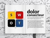 Business Models: SWOT Analysis Creative Presentation Template #02915