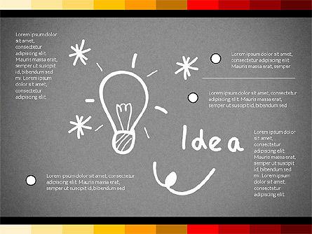 Teamwork Concept with Doodle Shapes, Slide 15, 02916, Presentation Templates — PoweredTemplate.com