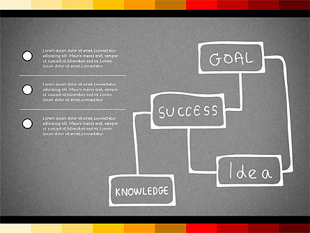 Teamwork Concept with Doodle Shapes, Slide 16, 02916, Presentation Templates — PoweredTemplate.com