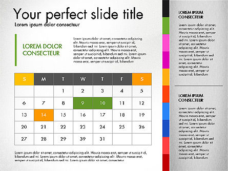 Presentation Templates: Business Report Concept Presentation Template #02918