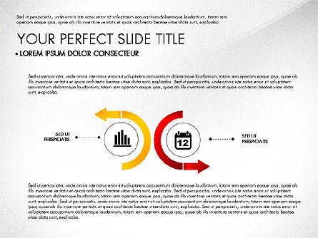 Business Report with Process Diagrams, 02919, Process Diagrams — PoweredTemplate.com