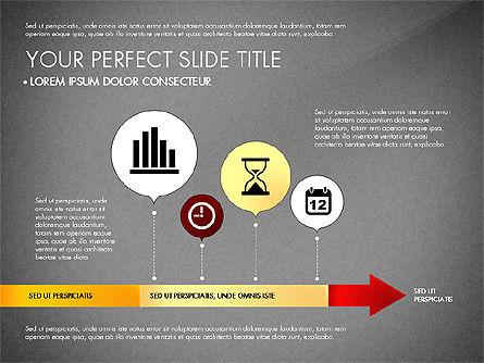 Business Report with Process Diagrams, Slide 10, 02919, Process Diagrams — PoweredTemplate.com