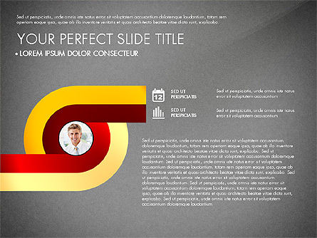 Business Report with Process Diagrams, Slide 11, 02919, Process Diagrams — PoweredTemplate.com