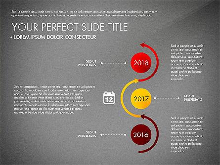 Business Report with Process Diagrams, Slide 12, 02919, Process Diagrams — PoweredTemplate.com