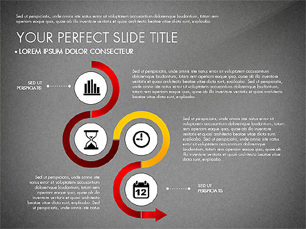 Business Report with Process Diagrams, Slide 13, 02919, Process Diagrams — PoweredTemplate.com