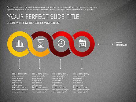 Business Report with Process Diagrams, Slide 14, 02919, Process Diagrams — PoweredTemplate.com