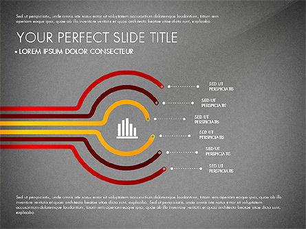 Business Report with Process Diagrams, Slide 15, 02919, Process Diagrams — PoweredTemplate.com
