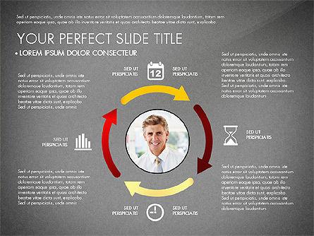 Business Report with Process Diagrams, Slide 16, 02919, Process Diagrams — PoweredTemplate.com