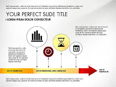 Business Report with Process Diagrams, Slide 2, 02919, Process Diagrams — PoweredTemplate.com