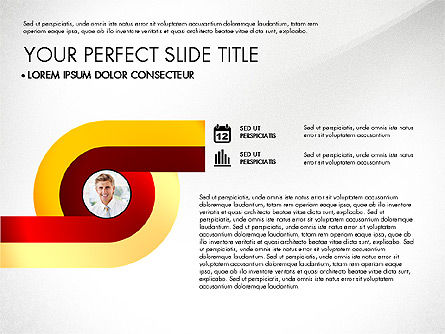 Business Report with Process Diagrams, Slide 3, 02919, Process Diagrams — PoweredTemplate.com