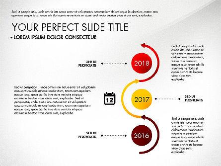 Business Report with Process Diagrams, Slide 4, 02919, Process Diagrams — PoweredTemplate.com