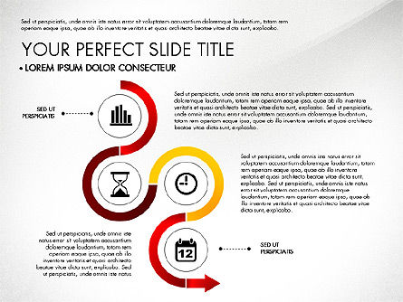Business Report with Process Diagrams, Slide 5, 02919, Process Diagrams — PoweredTemplate.com